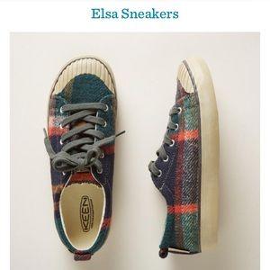 Keen Elsa Plaid Sneakers
